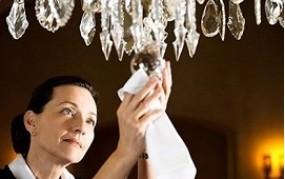 Mytí lustrů