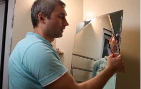 Montáž zrcadla