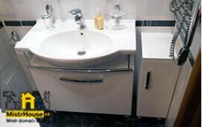 Монтаж мебели ванной комнаты