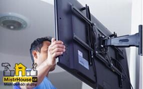 Montáž TV držáku