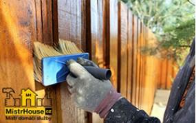 Malování plotu