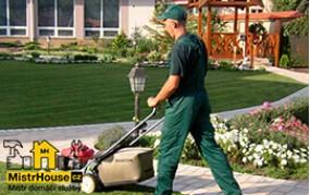 Úklid zahrady a pozemku