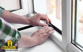 Výměna okenního těsnění